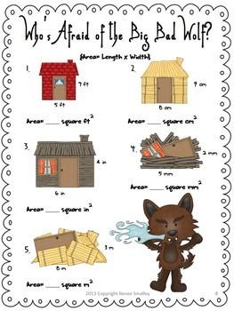 Fairy Tales Math {Probability, Factors, Multiples, Perimeter & More}