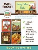 Fairy Tales Math {Probability, Factors, Multiples, Perimet