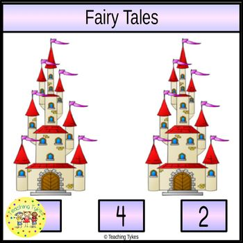 Fairy Tales Worksheets Emergent Reader Task Cards