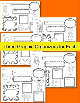 Fairy Tales Mega Pack II ~ Includes Graphic Organizers & Much More!