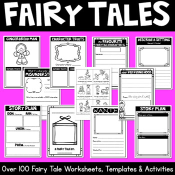 Fairy Tales Mega Pack- Term Program + Resources