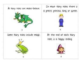Fairy Tales Mini Book