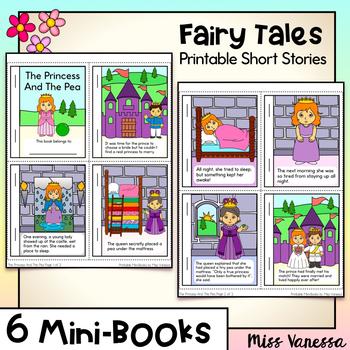 Fairy Tales Mini-Books Pack