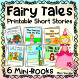 Fairy Tales Printable Short Stories - Six Easy-To-Read Mini-Books