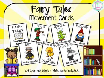 Fairy Tales Movement Cards/Brain Break