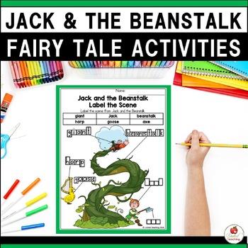 Fairy Tales No Prep Activities GROWING BUNDLE