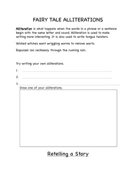 Fairy Tales Packet
