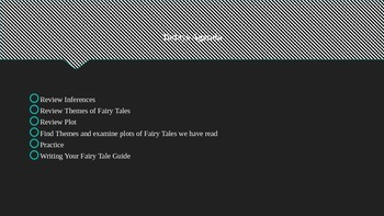 Fairy Tales - Plot and Theme PowerPoint