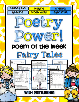 Fairy Tales Poetry Power! Daily Literacy Practice
