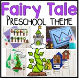 Fairy Tales Math and Literacy Centers for Preschool, PreK, and Kinder