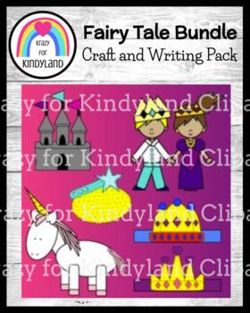 Fairy Tales Craft and Writing Pack: Prince, Princess, Castle, Crowns, Wand