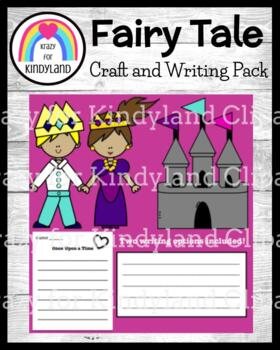 Prince, Princess, & Castle Craft and Writing (Fairy Tales)