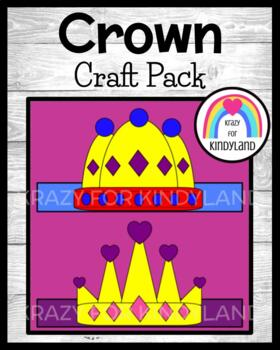 Fairy Tales: Prince and Princess Crowns (Hats)