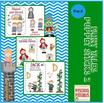 Fairy Tales Puppet Sticks 2