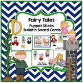 Fairy Tales Puppet Sticks & Bulletin Board Cards