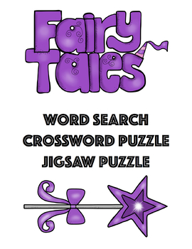 Fairy Tales Puzzle Packet