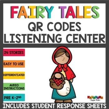 #memorialdaysavings Fairy Tales QR Codes Listening Center Bundle