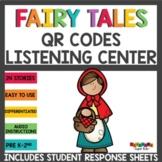Fairy Tales QR Codes Listening Center Bundle