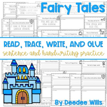 Fairy Tales: Read, Trace, Glue, and Draw