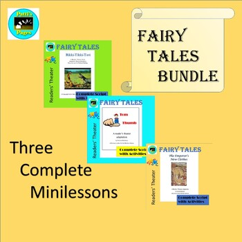 Fairy Tales Readers' Theater Adaptations Bundle