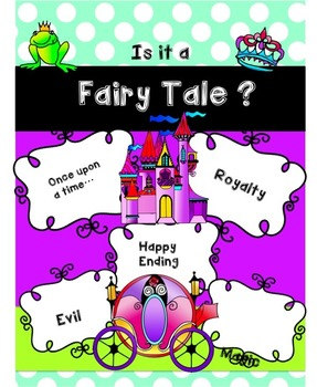Fairy Tales Reading Comprehension 2nd and 1st Grade