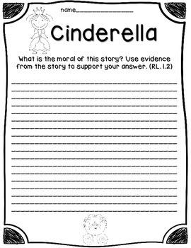 Fairy Tales Reading Comprehension Activities {Cinderella vs Cinderelephant}