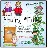 Fairy Tales Activities and Centers for Kindergarten