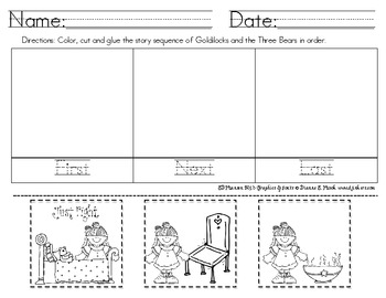 Fairy Tales Sequencing (Common Core Aligned)