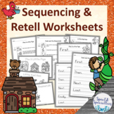 Fairy Tales Set 1 Sequencing & Retell Worksheets (Differentiated)