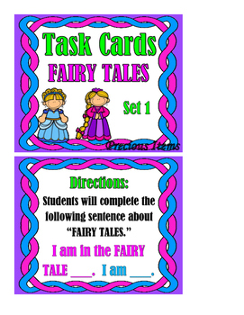 Fairy Tales Set 1 - Task Cards
