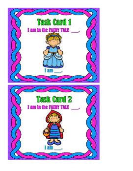 Fairy Tales Set 1 - Task Cards