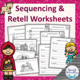 Fairy Tales Set 2 Sequencing & Retell Worksheets (Differentiated)