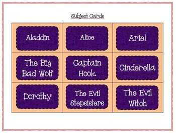 Fairy Tales Word Work - Silly Sentences for Fluent Readers