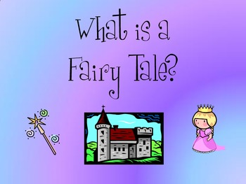 Fairy Tales Slides/Posters
