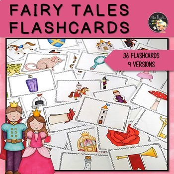 Let's write a fairy tale - Flashcards