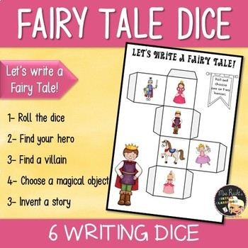 Fairy Tales Story Dice