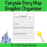 Fairytales (Fairy Tale) Story Map Graphic Organizer