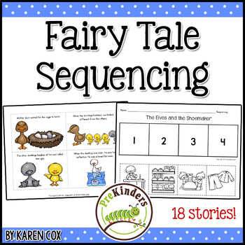 fairy tales story sequencing by karen cox teachers pay teachers. Black Bedroom Furniture Sets. Home Design Ideas