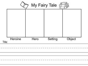 Fairy Tales - Study the Characteristics, Write Your Own, Fracture or Mix One Up!
