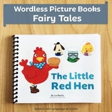 Wordless Book Printables | Fairy Tales | The Little Red Hen (Kindergarten)