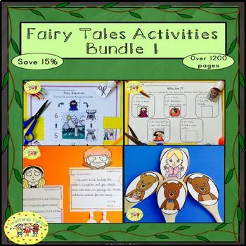 Fairy Tales Activities Bundle 1