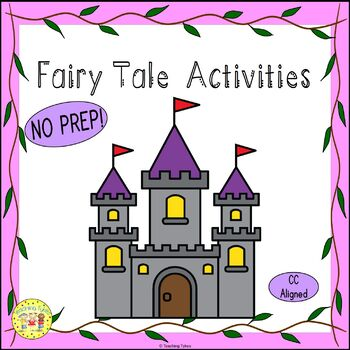 Fairy Tales Worksheets Activities Games Printables and More