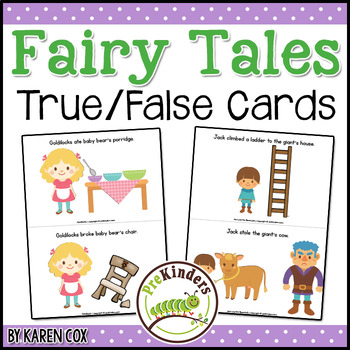 Fairy Tales: True False Cards
