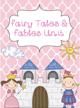 Fairy Tales Unit- Binder Cover/Divider
