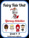 Fairy Tales Unit - Literacy Activities