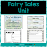 Fairy Tales Unit - Vocabulary, Elements, Characteristics, Wanted Posters
