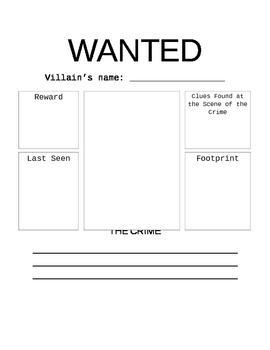 """Fairy Tales """"Wanted"""" Poster"""