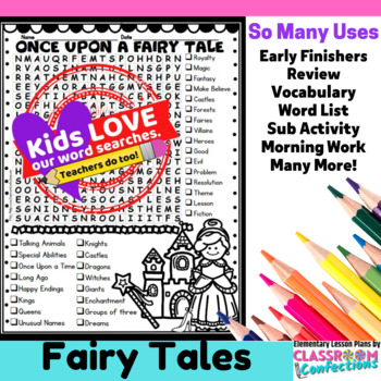 Fairy Tales Word Search