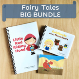 Fairy Tales Printables for Speech Therapy. Wordless and Early Readers Bundle