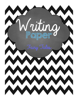 Fairy Tales Writing Paper